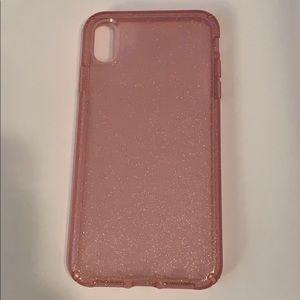 Speck Pink Glitter iPhone XS Max